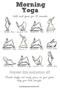 morning routine.  #yoga