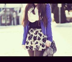 Winter dress.