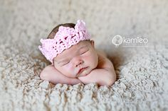 baby crown crochet
