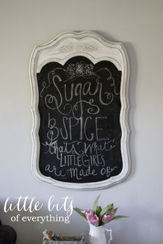Sugar & Spice chalkb