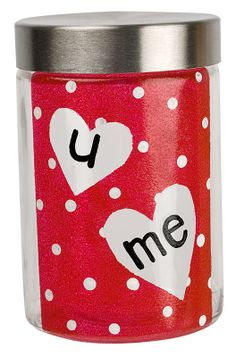 Create a sweet and sentimental candy jar with Americana Gloss Enamels.