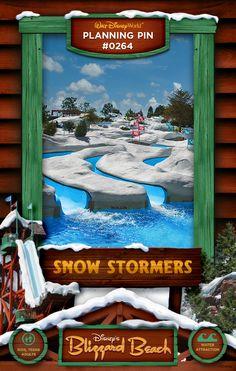 Walt Disney World Planning Pins: Snow Stormers