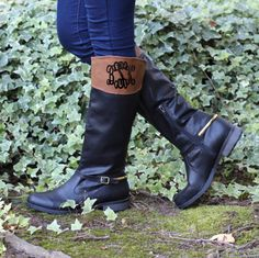 Monogrammed Marleylilly Riding Boots