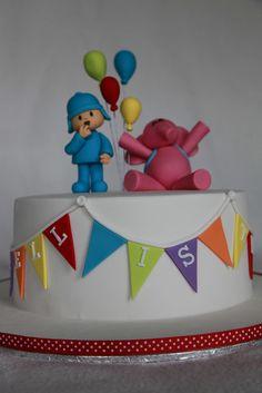 Markell's Pocoyo Cake by MyCakes.com.au, via Flickr