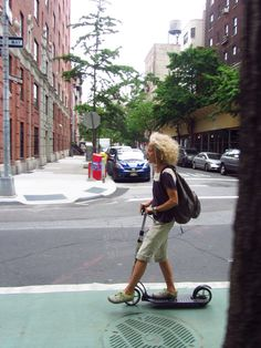 commuting - scooters! Yeah, cool!