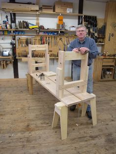Mike Siemsen - The Naked Woodworker DVD - Lost Art Press