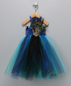 Peacock halloween costume idea...