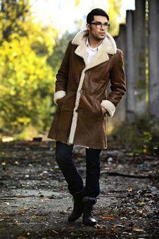 Shearling Coat | A&A Vesa #mensfashion
