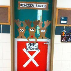 classroom door | Classroom door | Christmas