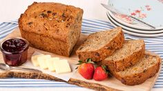 Morning Glory Breakfast Bread - Recipes - Best Recipes Ever - This quick bread, chock-full of carrots, raisins, coconut, walnuts and banana, is great to have on the counter for a quick breakfast fix.