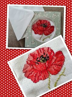 Blogger Emma made the most of our free stitch kit with issue 206 of the mag to bring this pretty poppy to life! This card will be sure to raise a smile for the lucky recipient ;)