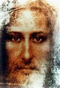 Reconstructed face from the Shroud of Turin.