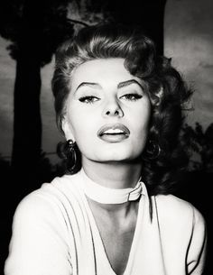 SOFIA LOREN old hollywood glamour