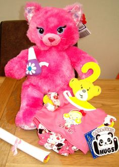 Build A Bear Kitty Pj S