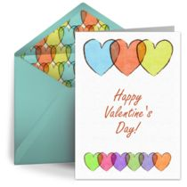 Beautiful free digital Valentine's Day cards by Punchbowl