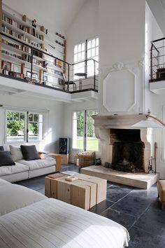 Open living room (via desire to inspire)