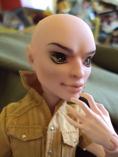 Monster High Custom Cam Boy OOAK Repaint with Clothing Shoes Wig Lot | eBay