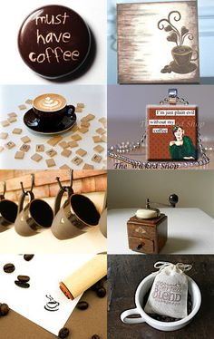 Coffee by Tyneille on Etsy--Pinned with TreasuryPin.com