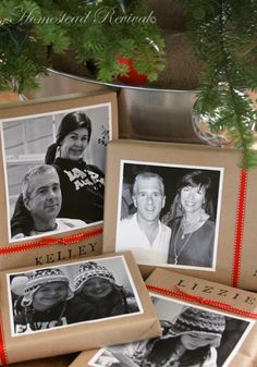 Christmas Gift Wrap Ideas @ Homestead Revival