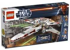Gifts for Kids: Star Wars LEGO X-Wing Starfighter 9493 @ Amazon.com