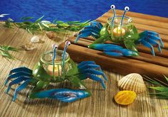blue crab votives