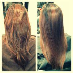 Japanese Hair Straightening Brazillian Blowout On