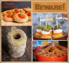 kid lunches, 25 halloween, school, pumpkin cookies, fruit cups