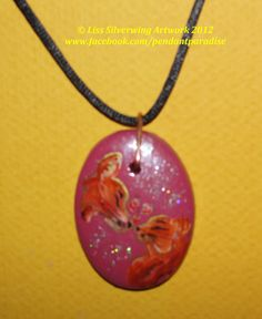 $1 Starting Bid: Kissing Cats Pendant Necklace http://www.outbid.com/auctions/1734#9