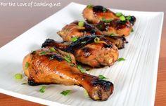 Honey-Soy Chicken Drumsticks