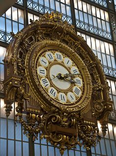 The clock at the Musee D'Orsay.