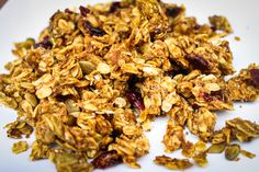 Pumpkin Almond Butter Granola