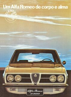 Alfa Romeo 2300 FNM adv