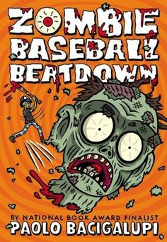 While practicing for their next baseball game, thirteen-year-old friends Rabi, Miguel, and Joe discover that the nefarious activities of the Delbe, Iowa, meatpacking plant have caused cows to turn into zombies. Ages 9 and up.