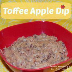 "The (mis)Adventures of a ""Born Again"" Farm Girl: Toffee Apple Dip"