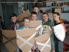 cardboard sheilds