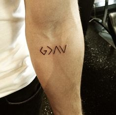 """""""God is greater than the highs and lows"""""""