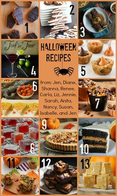 Butterfinger Bark and Halloween Food Party