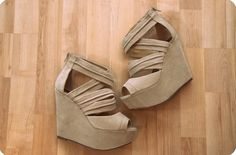 need some beige/nude wedges.