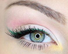 makeup geek, eye makeup, eyeshadow, soft colors, daisi, makeup ideas, beauti, green eyes, light