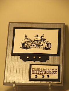 Rhonda's Stamping Spot: Stampin'UP Motorcycle