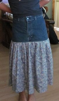 Converting Jeans/Pants to Skirts