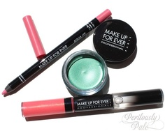 Make Up For Ever Summer 2013 Aqua Collection ~ Photos, Swatches, and Review