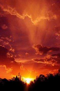 Beautiful scenery, sunrise