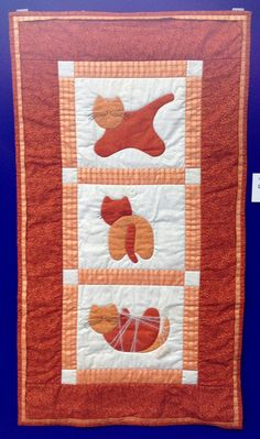 Cat Quilt by Unknown | Flickr - Photo Sharing!