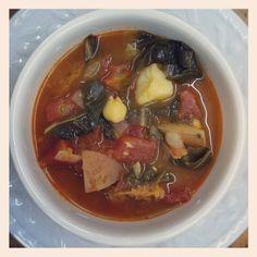 Portuguese Collard Green Soup