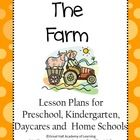 The Farm and Farm Animals are creative and enriched lesson plans for a week for the age group of 3-6 years old. Can be used in a preschool, kinder...