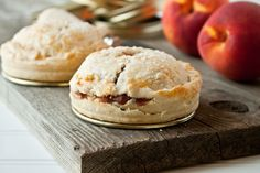 Mason Jar Lid Spiced Peach Pies. Gather up all your mason jar lids, and get to work making the most adorable hand-held pies!