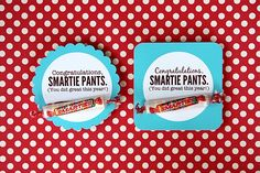 Smartie Pants craft.  Love it.