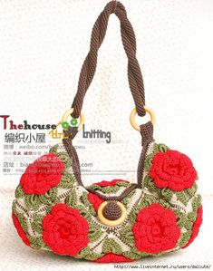 Flower bag with video tutorial
