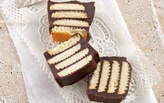 Chocolate slice: No-bake refrigerated chocolate slice...need we say more?
